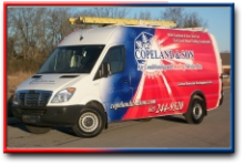 Copeland & Son has service trucks ready for your home furnace repair in Brentwood, TN area